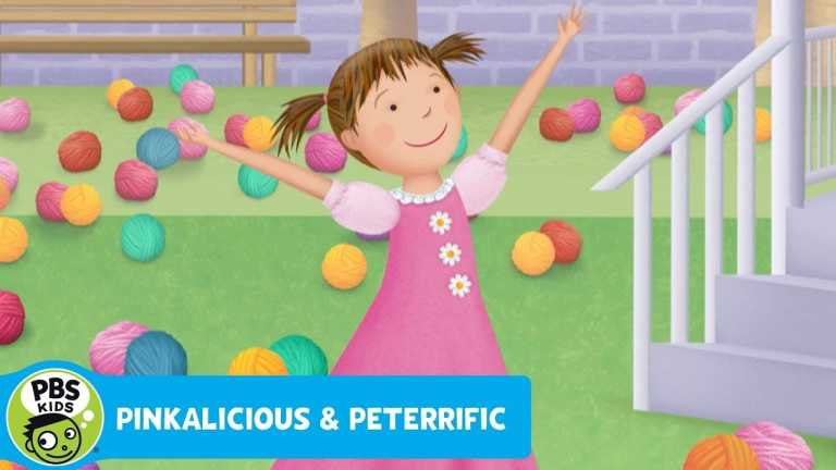 PINKALICIOUS & PETERRIFIC   Too Much Yarn in the Yard!   PBS KIDS