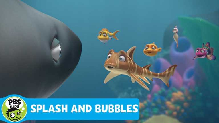SPLASH AND BUBBLES | The Great White Shark | PBS KIDS