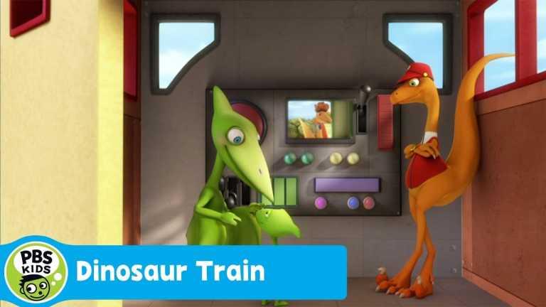 DINOSAUR TRAIN | The Dinosaur Train Race Begins | PBS KIDS