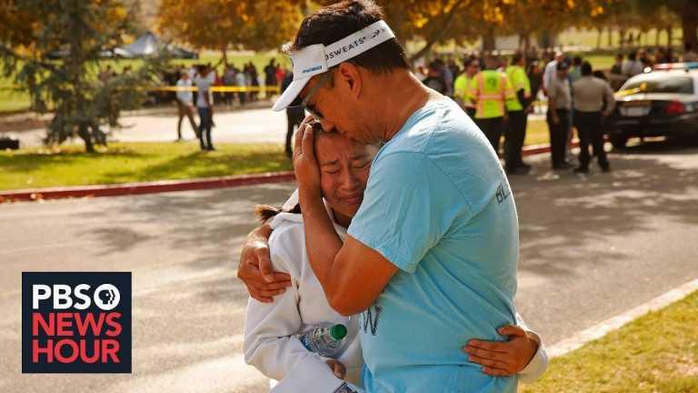 News Wrap: Gunman kills 2 at Southern California high school