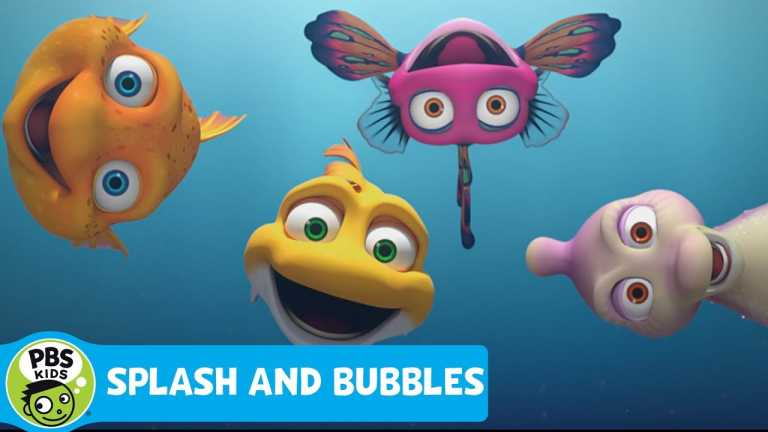 SPLASH AND BUBBLES   Nothing is Better Than Hanging With Friends   PBS KIDS