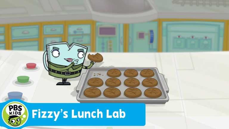 FIZZY'S LUNCH LAB | Food Camp: Mighty Molasses Cookies | PBS KIDS