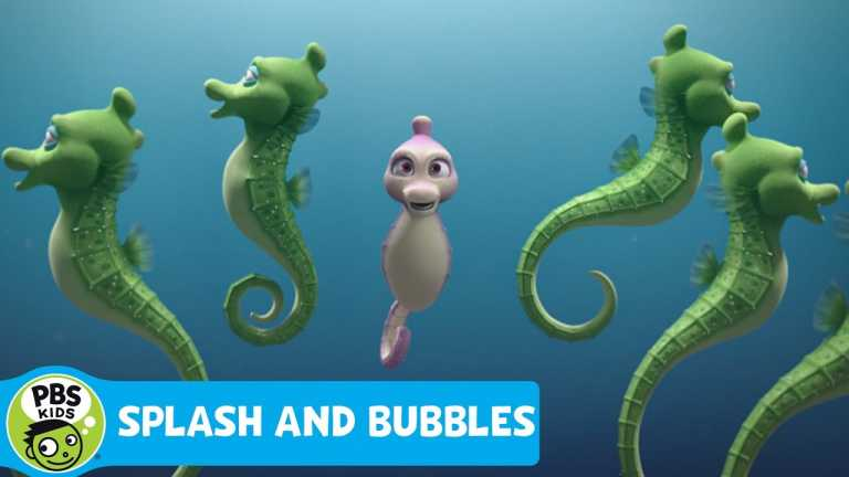SPLASH AND BUBBLES | One Small Ripple Song! | PBS KIDS