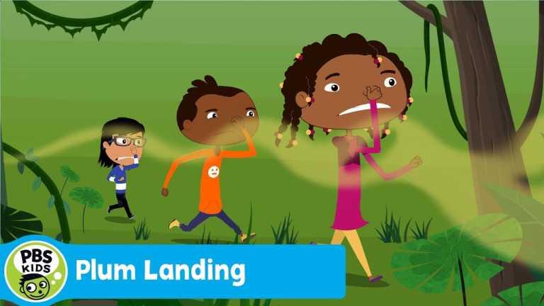 PLUM LANDING | Stinkarama!, Jungle, Part 3 | PBS KIDS