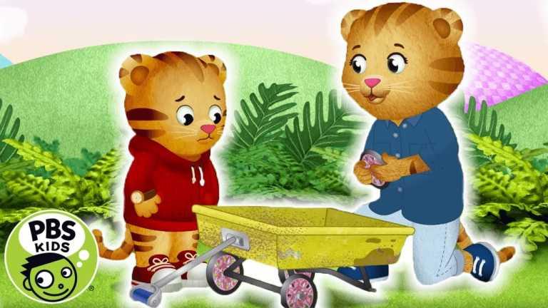 Daniel Tiger's Neighborhood | Fixing a Wagon with Mom! | PBS KIDS