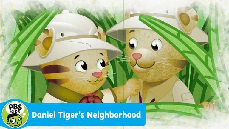 DANIEL TIGER'S NEIGHBORHOOD | Daniel and Dad – The Adventure Tigers | PBS KIDS