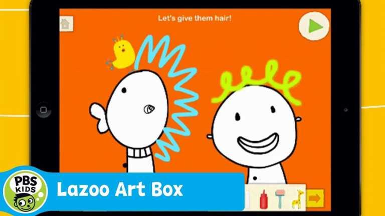 APP | Lazoo Art Box | PBS KIDS