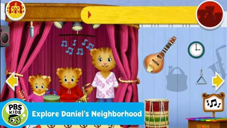 Explore Daniel's Neighborhood App Preview | PBS KIDS