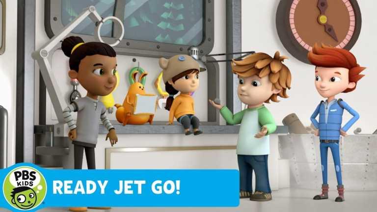 READY JET GO!   Meteorite Test   PBS KIDS