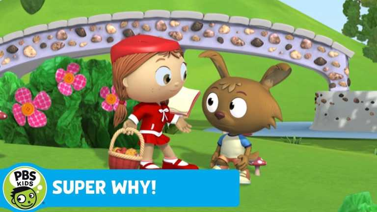 SUPER WHY! | Red Learns About Sharing | PBS KIDS