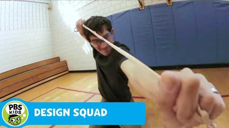 DESIGN SQUAD | Nate's Slingshot | PBS KIDS