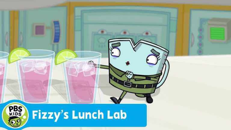 FIZZY'S LUNCH LAB | Food Camp: Fizzy Pomegranate Drink | PBS KIDS