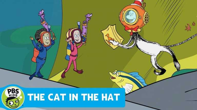 THE CAT IN THE HAT KNOWS A LOT ABOUT THAT! | Cleaning Barry the Barracuda | PBS KIDS