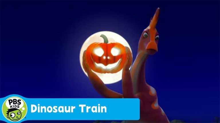 DINOSAUR TRAIN   Carving Pumpkin   PBS KIDS