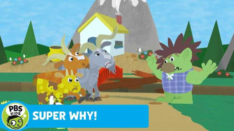 SUPER WHY!   The Billy Goats are Polite   PBS KIDS