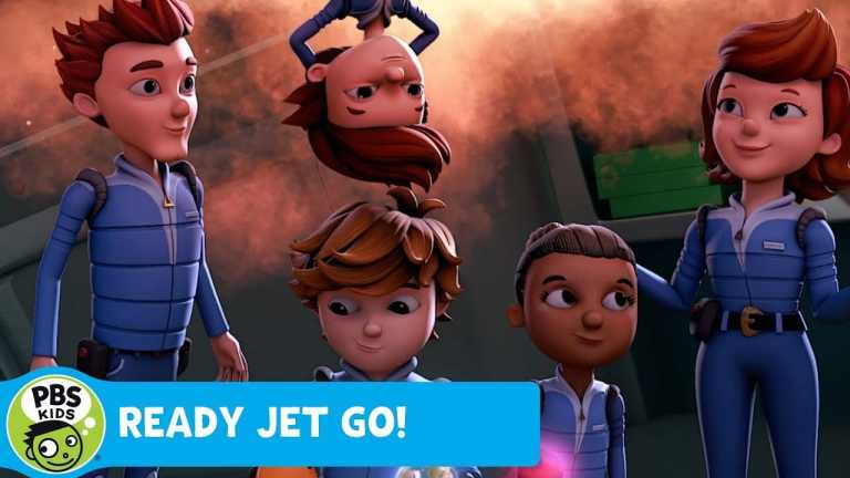 READY JET GO! | Map of the Galaxy | PBS KIDS