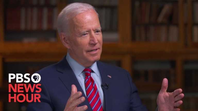 WATCH: Biden says Warren 'is making up' how she'd pay for 'Medicare For All'