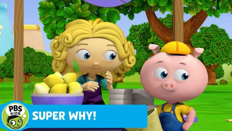 SUPER WHY! | Pig Searches for His Lemons | PBS KIDS
