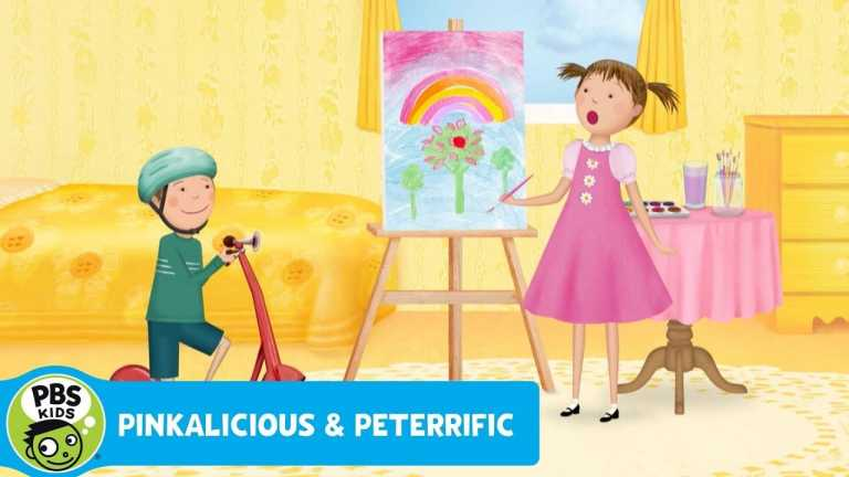 PINKALICIOUS & PETERRIFIC | Peter's Scooter Song | PBS KIDS