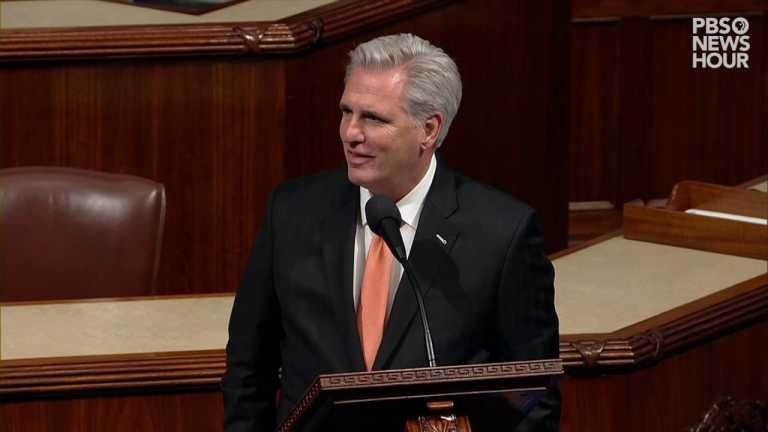 WATCH: McCarthy says impeachment resolution only makes inquiry process 'worse'