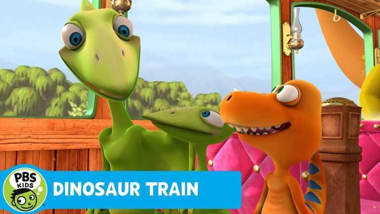 DINOSAUR TRAIN | Eruption! | PBS KIDS