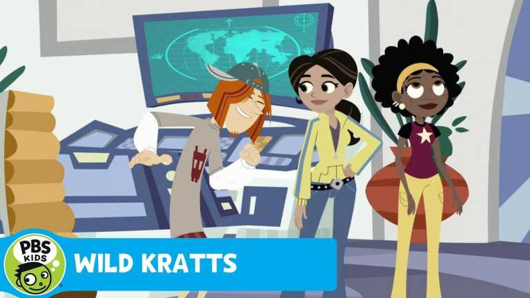 WILD KRATTS | Sloth: Creature Power | PBS KIDS