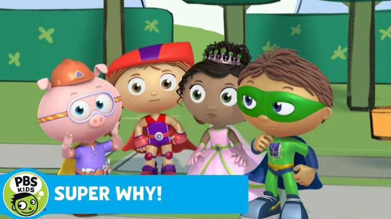 SUPER WHY! | Princess and Frog Play Together | PBS KIDS