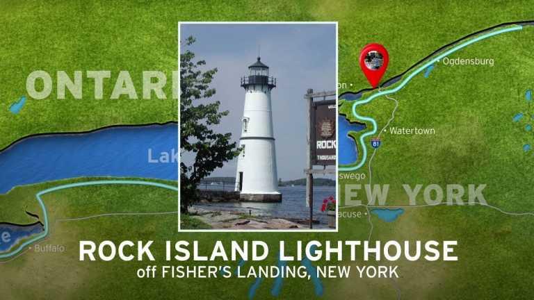 Rock Island Lighthouse | New York's Seaway Lighthouses