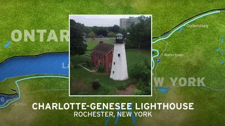 Charlotte-Genesee Lighthouse   New York's Seaway Lighthouses