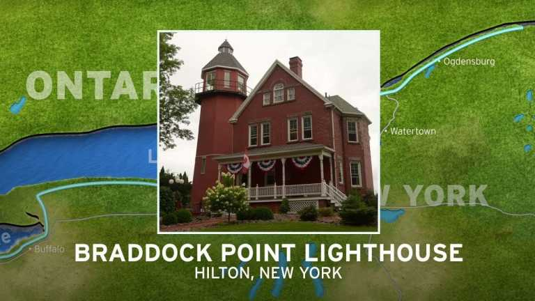 Braddock Point Lighthouse | New York's Seaway Lighthouses