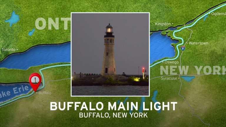 Buffalo Main Light | New York's Seaway Lighthouses