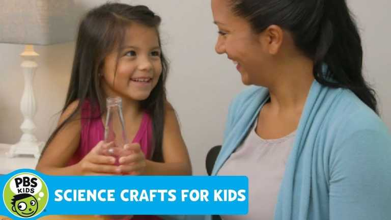 SCIENCE CRAFTS FOR KIDS | Make a Bottle Thermometer | PBS KIDS for PARENTS