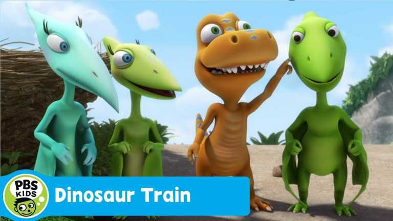 DINOSAUR TRAIN | Talking Clouds  | PBS KIDS