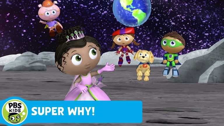 SUPER WHY! | Super Readers Travel to Outer Space | PBS KIDS