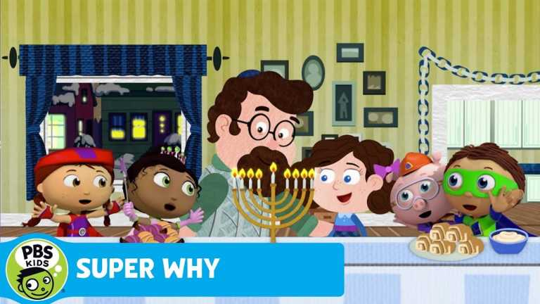 SUPER WHY | The Super Readers Sing 'Oh Chanukah' | PBS KIDS