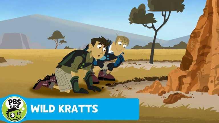 WILD KRATTS | Famous Aardvark Breakfast Sludge | PBS KIDS