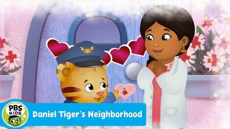 DANIEL TIGER'S NEIGHBORHOOD | L-O-V-E, I Love You! (Song) | PBS KIDS