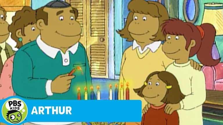 ARTHUR | Muffy Learns About Hanukkah | PBS KIDS