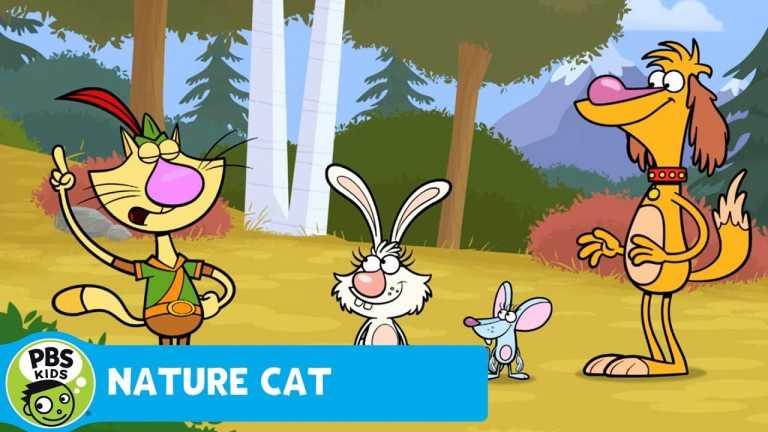 NATURE CAT | Squeeks Loves Rocks! | PBS KIDS