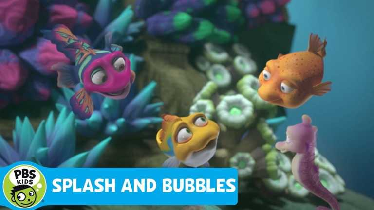 SPLASH AND BUBBLES | Ocean Friend Facts | PBS KIDS