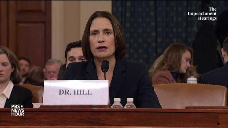 WATCH: Hill recalls John Bolton calling Rudy Giuliani a 'hand grenade'   Trump impeachment hearings