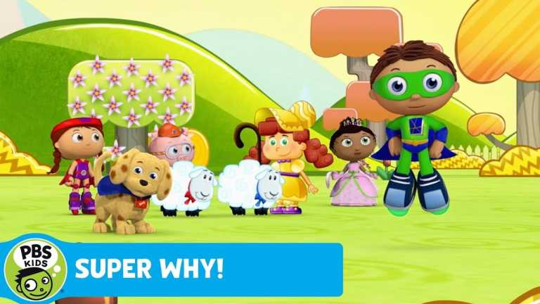 SUPER WHY! | The Sheep Find Bo Peep | PBS KIDS