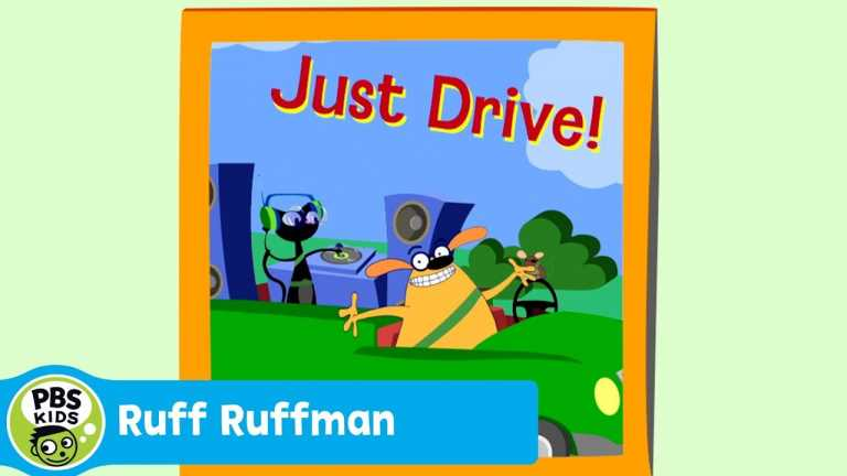 RUFF RUFFMAN | Distracted Driving | PBS KIDS