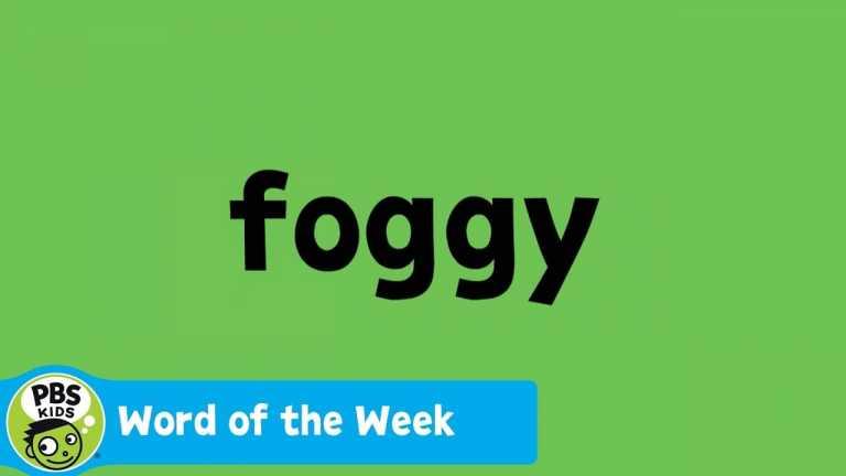 WORD OF THE WEEK | Foggy | PBS KIDS