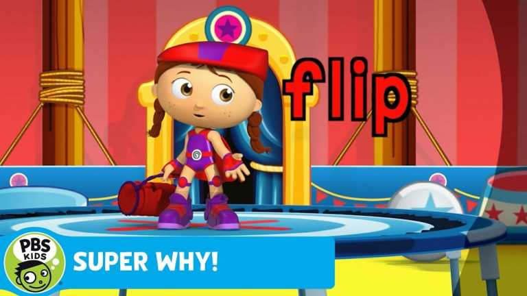 SUPER WHY! | Wonder Red Performs on the Trampoline | PBS KIDS