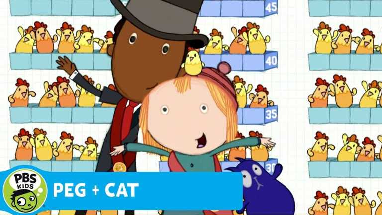 PEG + CAT | Every Chicken Counts | PBS KIDS