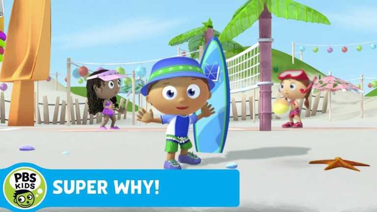 SUPER WHY! | Storybook Village Beach Party | PBS KIDS