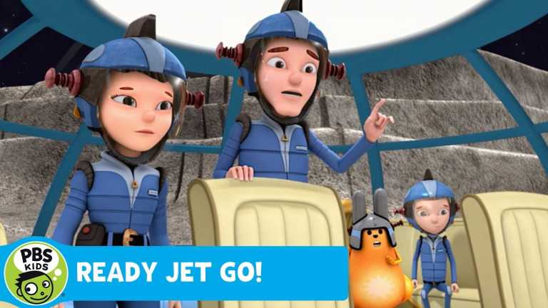 READY JET GO! | Broken Saucer | PBS KIDS