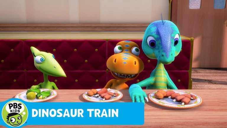 DINOSAUR TRAIN | Buddy and Dennis Become Friends! | PBS KIDS