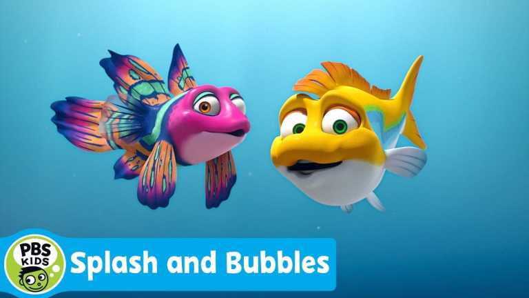 SPLASH AND BUBBLES   Catch All New Episodes of Splash and Bubbles Starting Next Monday!   PBS KIDS